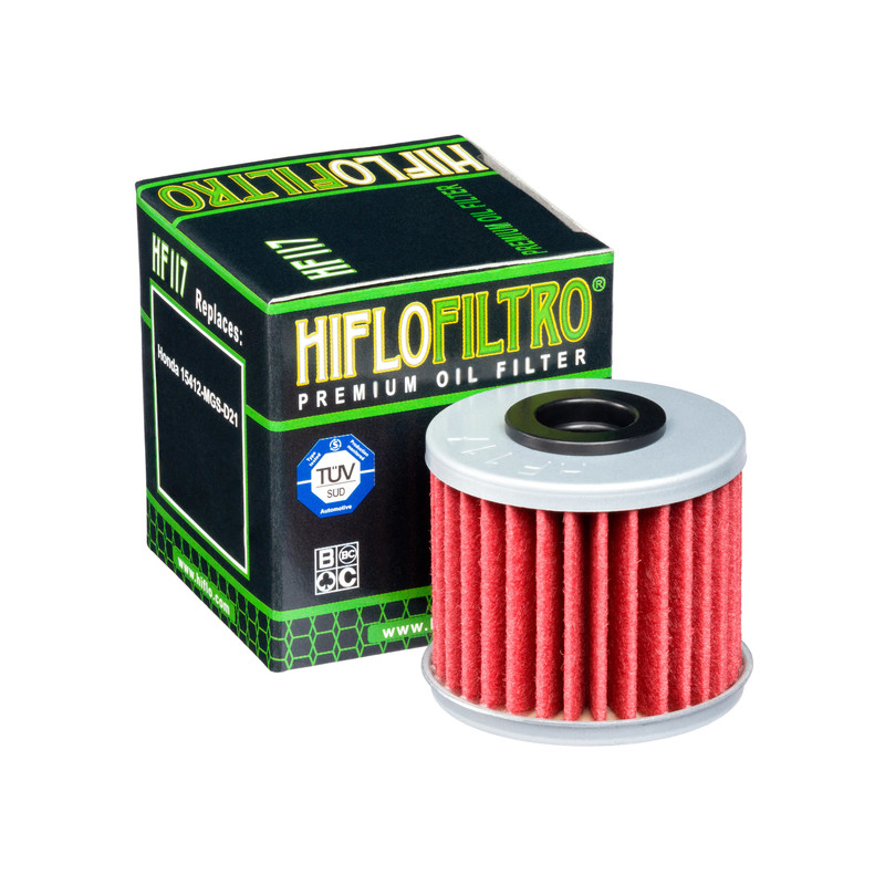 HiFlo Ölfilter HF117, (DCT Kupplung)